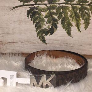 Michael Kors Monogram belt